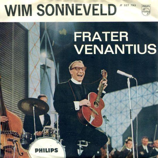Coverafbeelding Frater Venantius - Wim Sonneveld