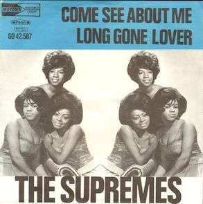 Coverafbeelding Come See About Me - The Supremes