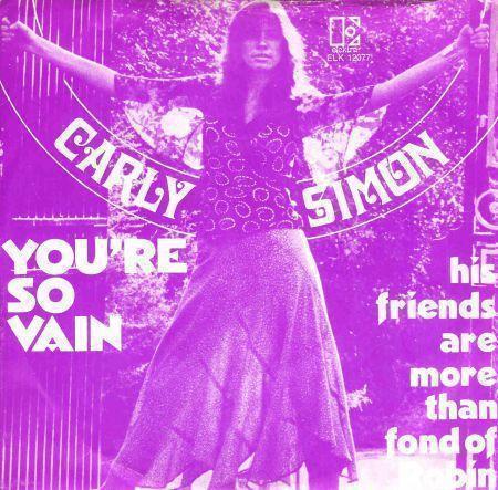 Coverafbeelding You're So Vain - Carly Simon