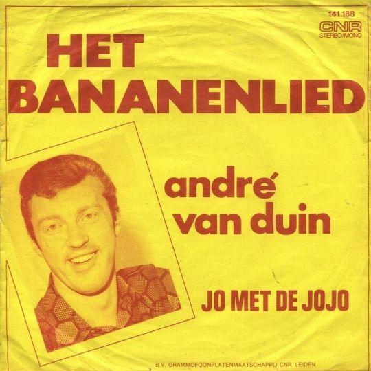 Coverafbeelding Het Bananenlied - André Van Duin