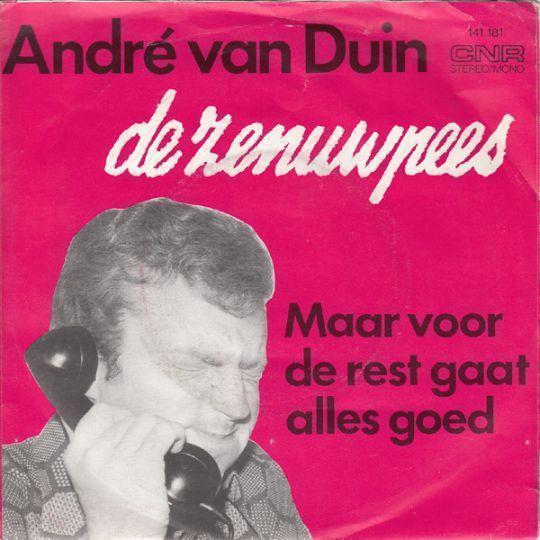 Coverafbeelding De Zenuwpees - Andr� Van Duin
