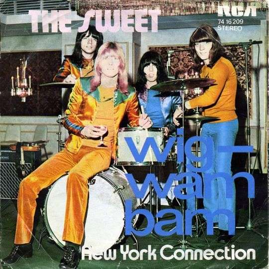 Coverafbeelding Wig-wam Bam - The Sweet