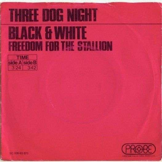 Coverafbeelding Black & White - Three Dog Night