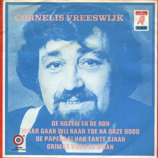 Coverafbeelding De Nozem En De Non [Ep] - Cornelis Vreeswijk