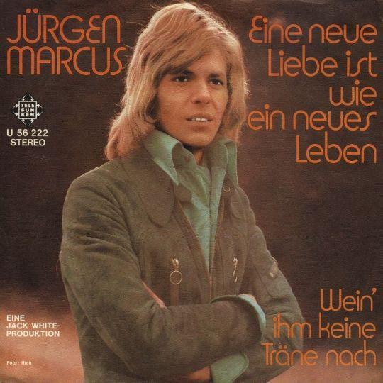 Coverafbeelding Eine Neue Liebe Ist Wie Ein Neues Leben - J�rgen Marcus