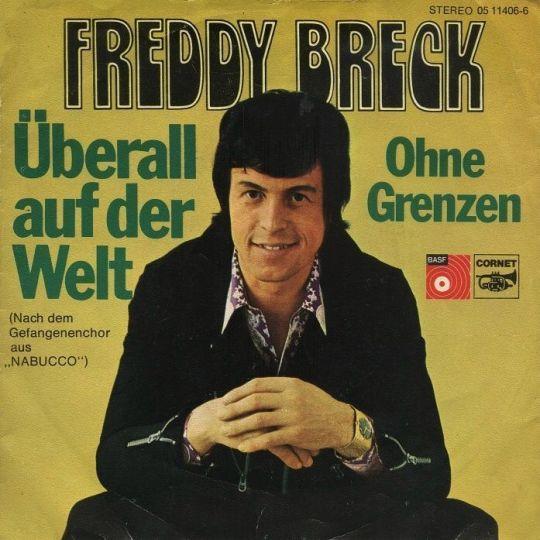 Coverafbeelding Überall Auf Der Welt - Freddy Breck