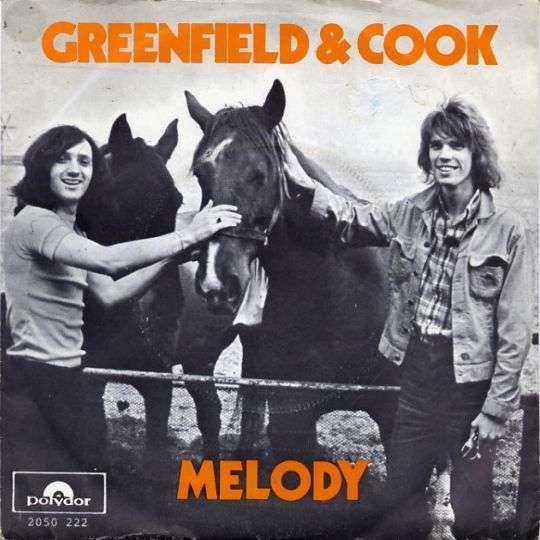 Coverafbeelding Melody - Greenfield & Cook