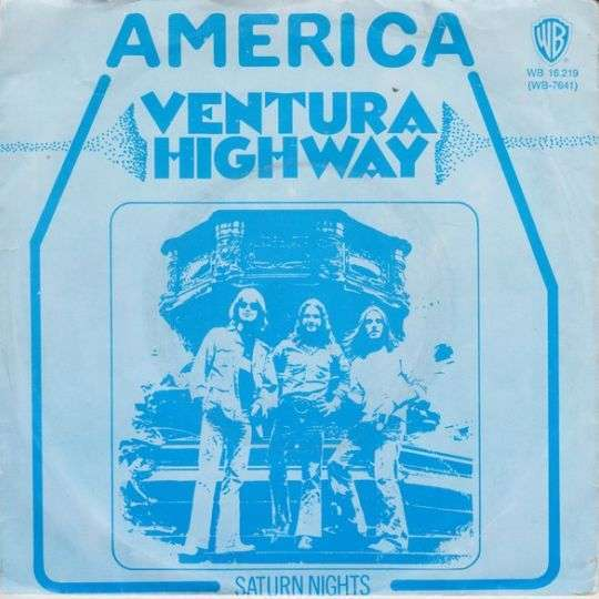 Coverafbeelding Ventura Highway - America