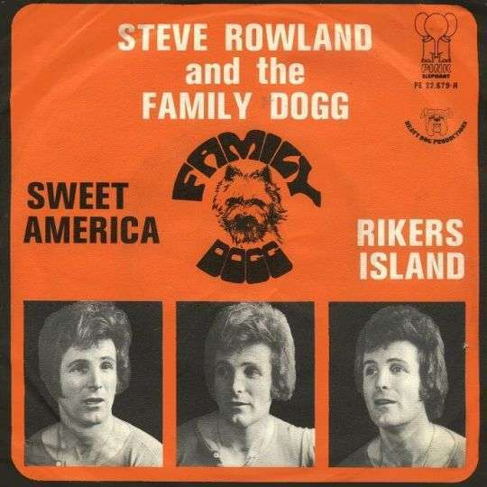Coverafbeelding Sweet America - Steve Rowland And The Family Dogg