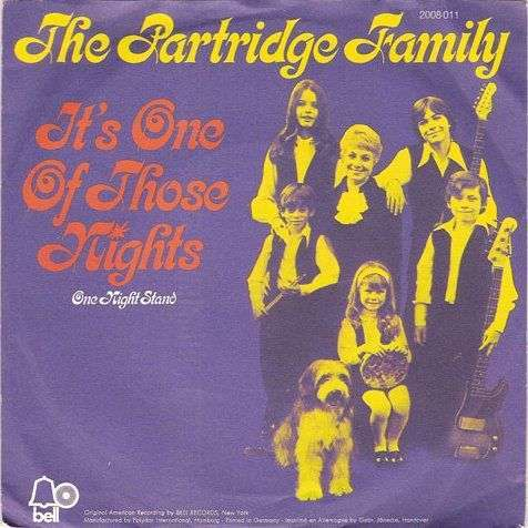 Coverafbeelding It's One Of Those Nights - The Partridge Family