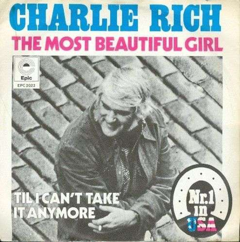 Coverafbeelding The Most Beautiful Girl - Charlie Rich