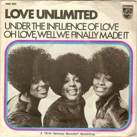 Coverafbeelding Under The Influence Of Love - Love Unlimited