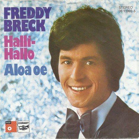 Coverafbeelding Halli-hallo - Freddy Breck