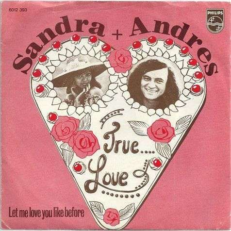 Coverafbeelding True Love - Sandra + Andres
