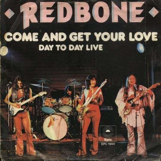 Coverafbeelding Redbone - Come And Get Your Love
