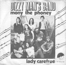 Coverafbeelding Mony The Phoney - Dizzy Man's Band