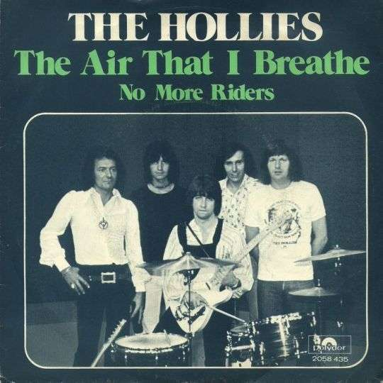 Coverafbeelding The Hollies - The Air That I Breathe