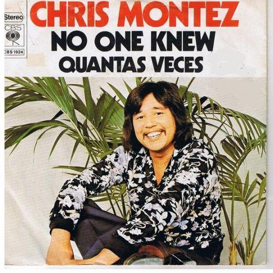 Coverafbeelding No One Knew - Chris Montez