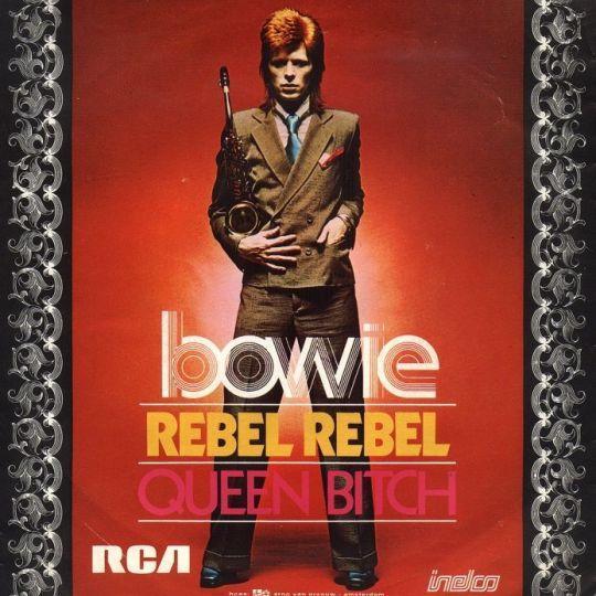 Coverafbeelding Bowie - Rebel Rebel