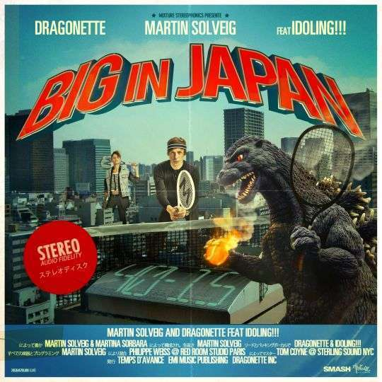 Coverafbeelding Martin Solveig and Dragonette feat Idoling!!! - Big in Japan