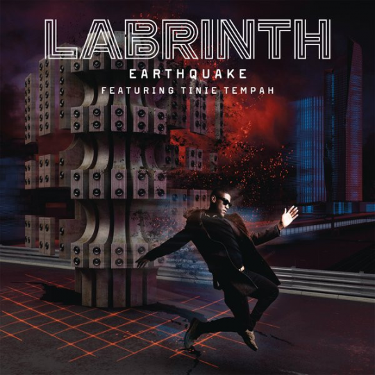Coverafbeelding Labrinth featuring Tinie Tempah - Earthquake