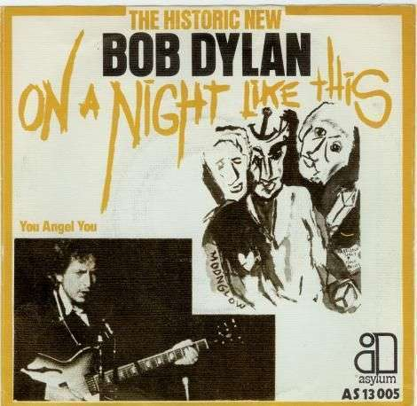 Coverafbeelding On A Night Like This - Bob Dylan