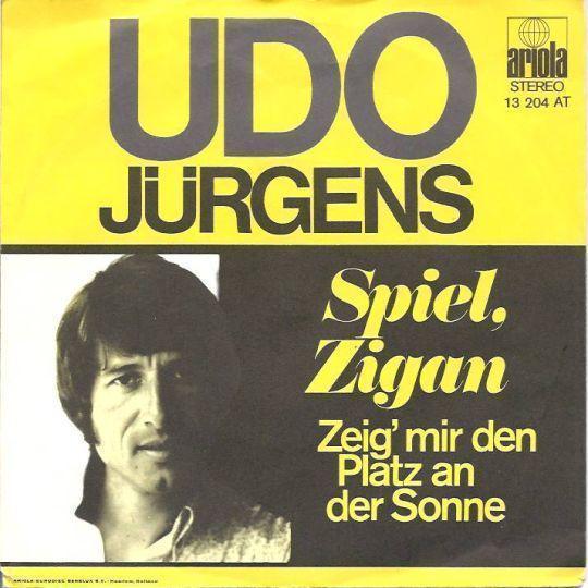 Coverafbeelding Spiel, Zigan - Udo Jürgens
