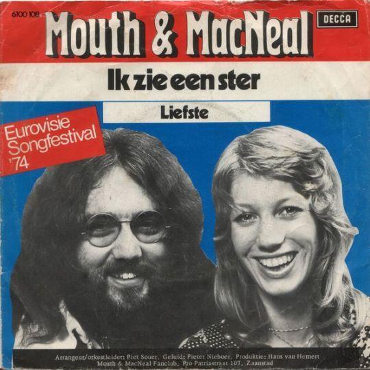 Coverafbeelding Mouth & MacNeal - Ik Zie Een Ster