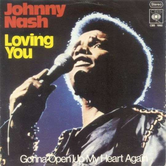 Coverafbeelding Loving You - Johnny Nash