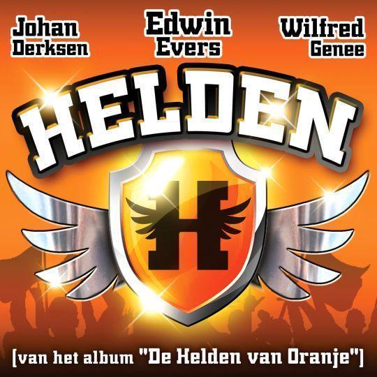 Coverafbeelding Edwin Evers & Johan Derksen & Wilfred Genee - helden