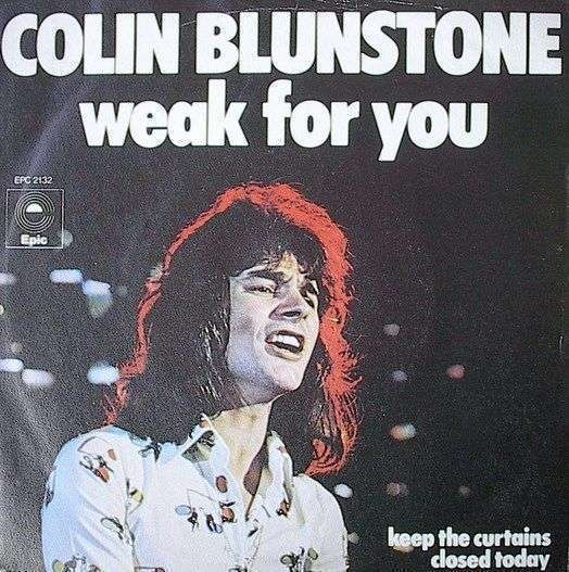 Coverafbeelding Weak For You - Colin Blunstone