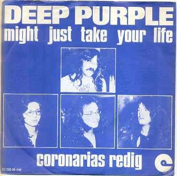 Coverafbeelding Deep Purple - Might Just Take Your Life