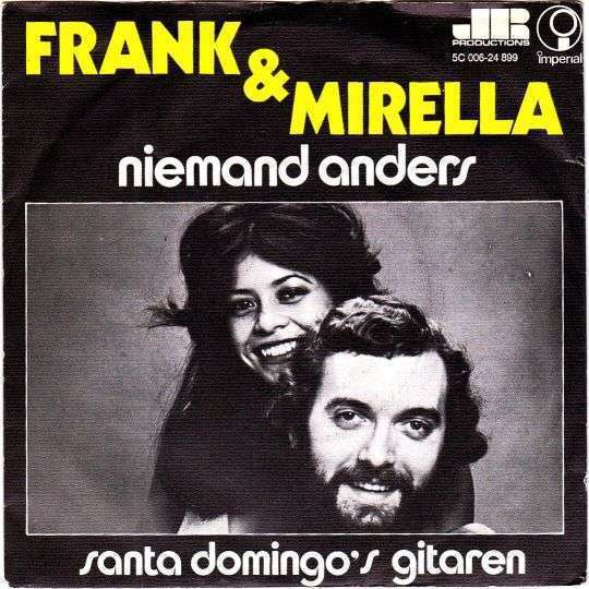 Coverafbeelding Frank & Mirella - Niemand Anders