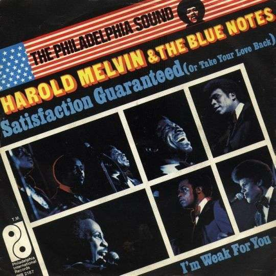 Coverafbeelding Satisfaction Guaranteed (Or Take Your Love Back) - Harold Melvin & The Blue Notes