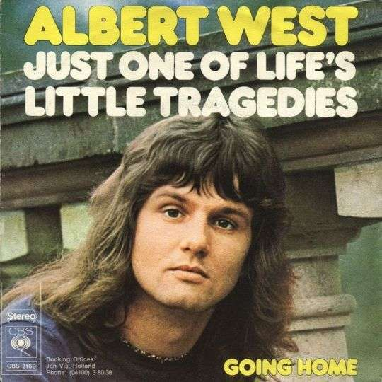 Coverafbeelding Just One Of Life's Little Tragedies - Albert West