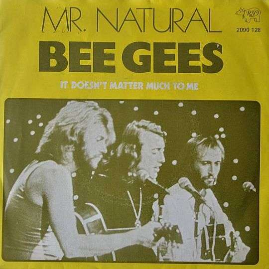 Coverafbeelding Mr. Natural - Bee Gees