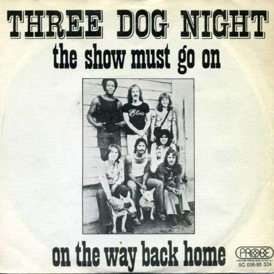 Coverafbeelding The Show Must Go On - Three Dog Night
