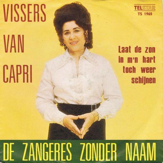 Coverafbeelding Vissers Van Capri - De Zangeres Zonder Naam