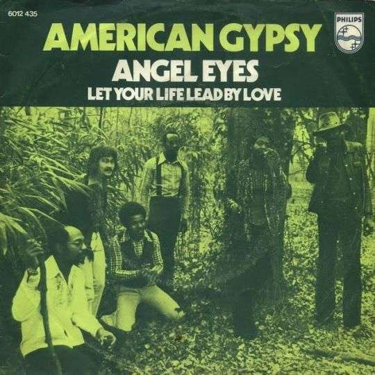 Coverafbeelding Angel Eyes - American Gypsy