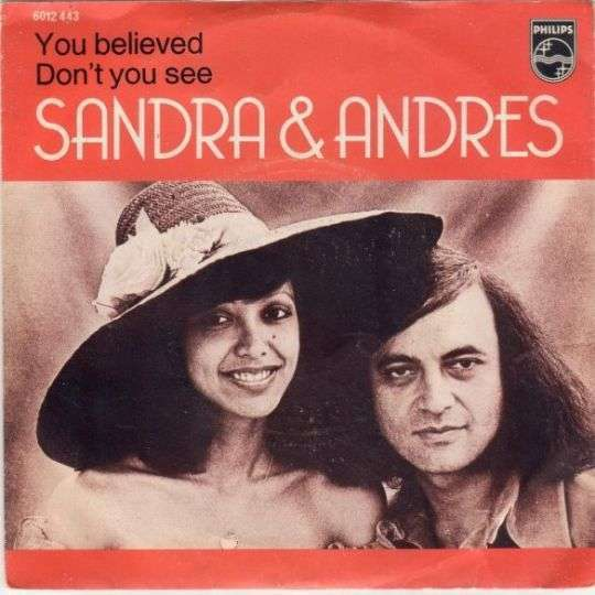 Coverafbeelding You Believed - Sandra & Andres