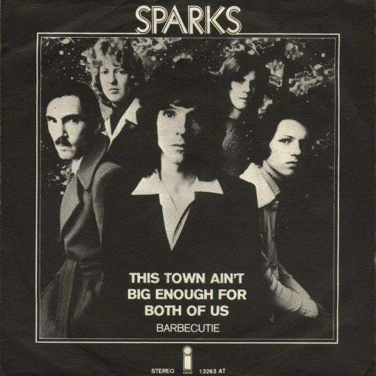 Coverafbeelding Sparks - This Town Ain't Big Enough For Both Of Us