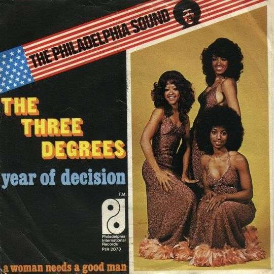 Coverafbeelding Year Of Decision - The Three Degrees