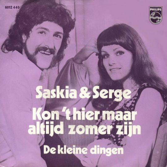 Coverafbeelding Kon 't Hier Maar Altijd Zomer Zijn - Saskia & Serge