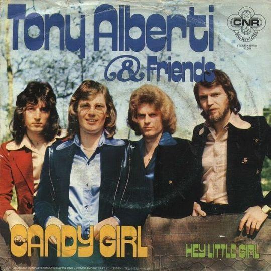 Coverafbeelding Tony Alberti & Friends - Candy Girl