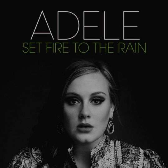 Coverafbeelding Set Fire To The Rain - Adele