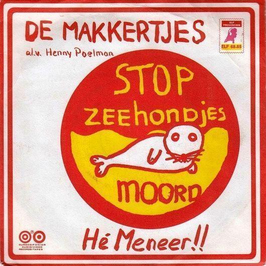 Coverafbeelding Stop Zeehondjesmoord - De Makkertjes O.l.v. Henny Poelman