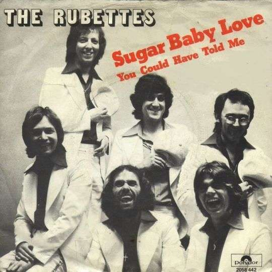 Coverafbeelding Sugar Baby Love - The Rubettes