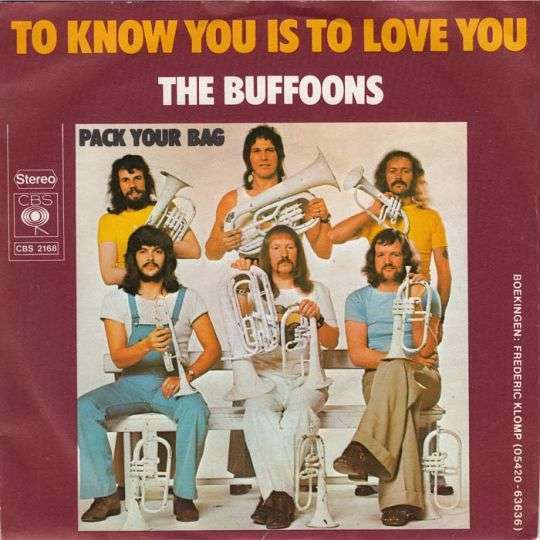 Coverafbeelding To Know You Is To Love You - The Buffoons