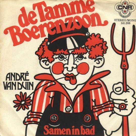 Coverafbeelding De Tamme Boerenzoon - Andr� Van Duin