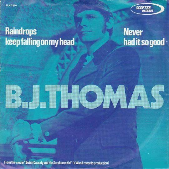 Coverafbeelding B.J. Thomas - Raindrops Keep Falling On My Head